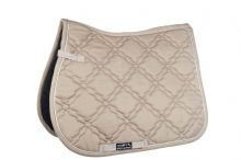 HKM BOLOGNA GREAT VALUE SADDLE CLOTH - BEIGE  - RRP £18.95